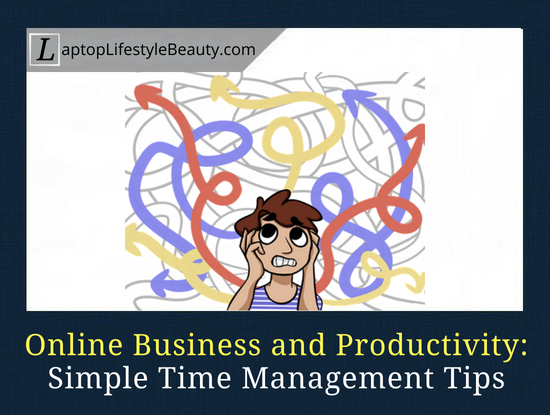 How to become more productive and efficient - my simple time management tips that I use on a daily basis.