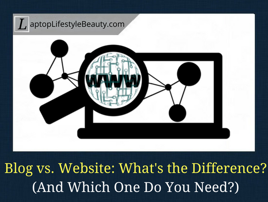 What is the difference between a blog and a website.