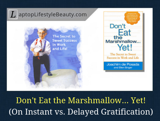 Don't Eat the Marshmallow Yet Review: On Instant vs Delayed Gratification and How it Can Predict Future Success